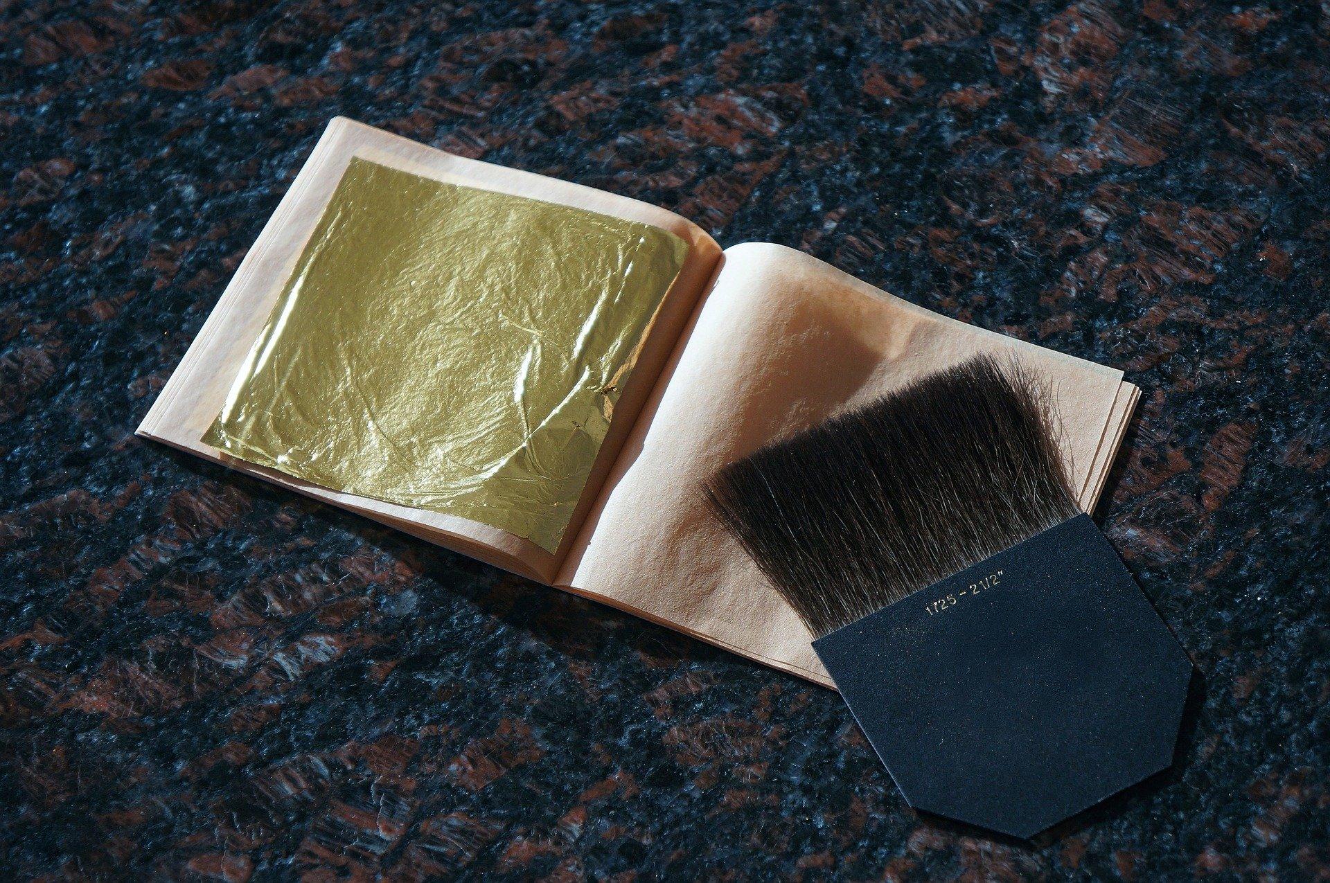 Art Oro Cabiate - libretto foglie d'oro